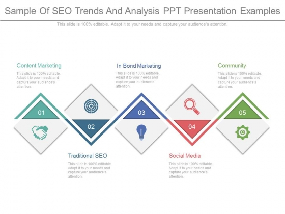 Sample Of Seo Trends And Analysis Ppt Presentation Examples