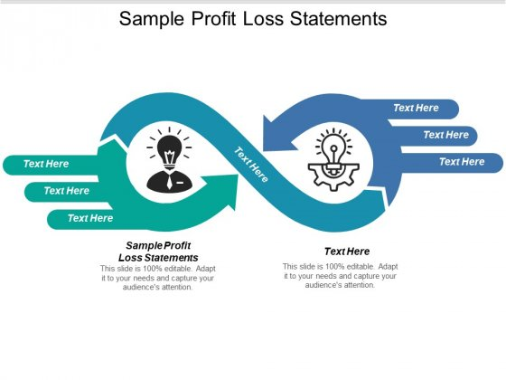 Sample Profit Loss Statements Ppt PowerPoint Presentation Pictures Design Templates Cpb