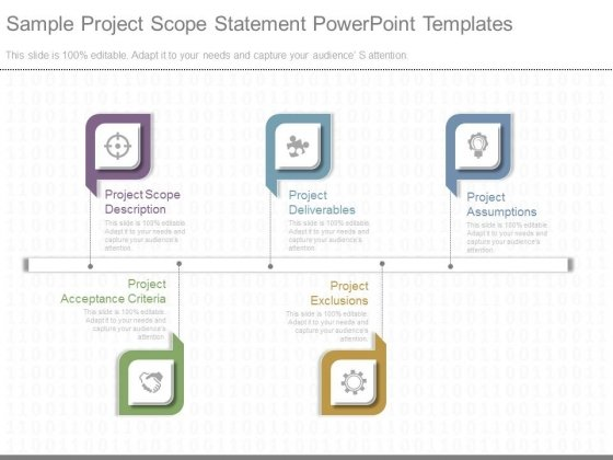 sample project scope statement powerpoint templates powerpoint