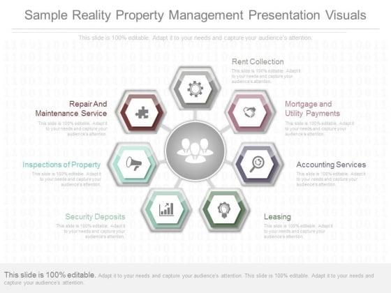 Sample Reality Property Management Presentation Visuals