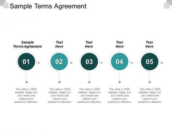 Sample Terms Agreement Ppt PowerPoint Presentation Icon Styles Cpb