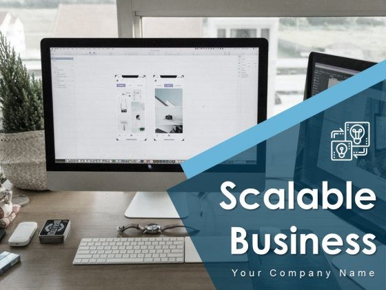 Scalable Business Performance Growth Strategies Cloud Scalability Ppt PowerPoint Presentation Complete Deck