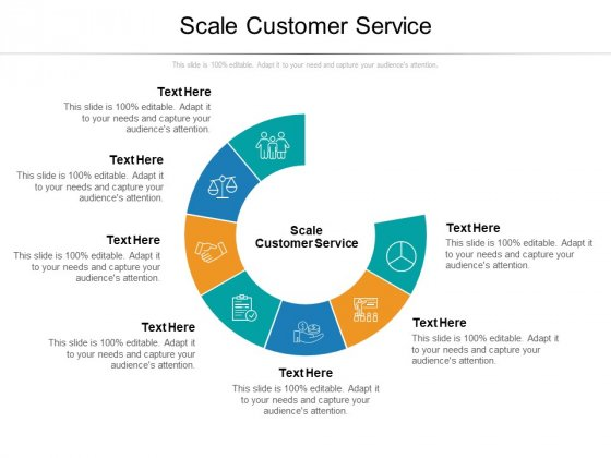 Scale Customer Service Ppt PowerPoint Presentation Outline Skills Cpb Pdf