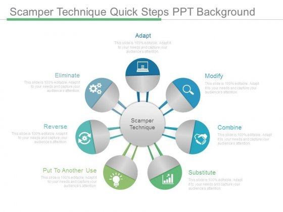 Scamper Technique Quick Steps Ppt Background