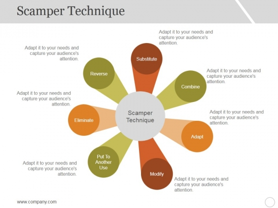 Scamper_Technique_Template_1_Ppt_PowerPoint_Presentation_Styles_Skills_Slide_1
