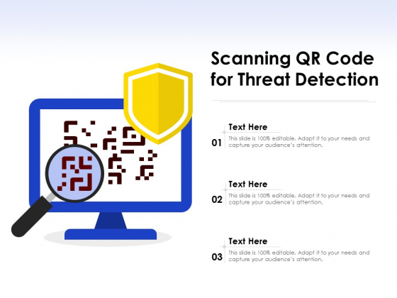 Scanning QR Code For Threat Detection Ppt PowerPoint Presentation File Structure PDF