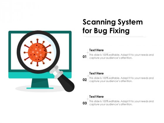 Scanning System For Bug Fixing Ppt PowerPoint Presentation File Smartart PDF