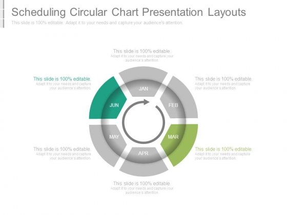 Scheduling Circular Chart Presentation Layouts