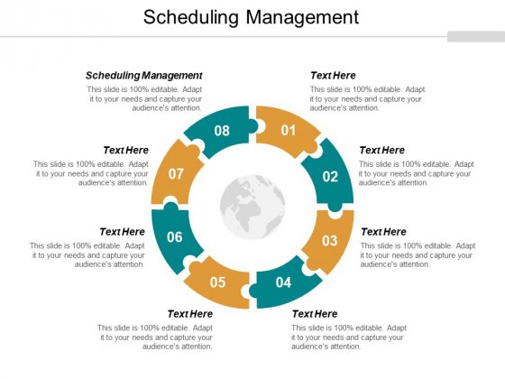 Scheduling Management Ppt PowerPoint Presentation Show Images Cpb