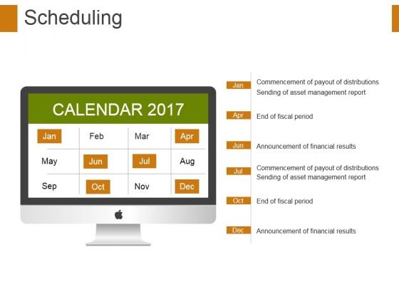 Scheduling Ppt PowerPoint Presentation Styles Background