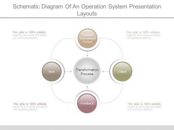 Schematic Diagram Of An Operation System Presentation Layouts