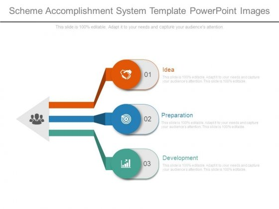 Scheme Accomplishment System Template Powerpoint Images