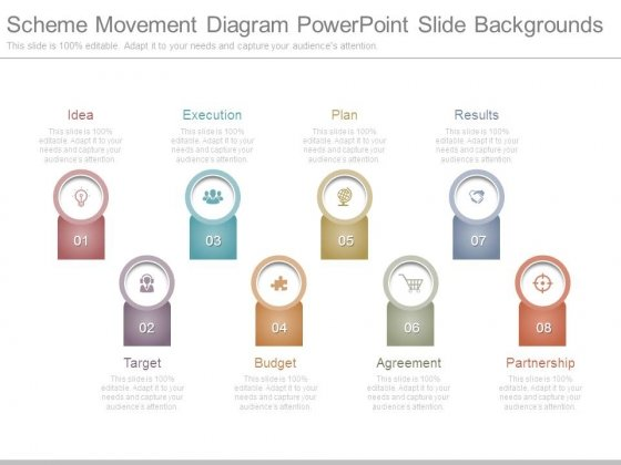 Scheme Movement Diagram Powerpoint Slide Backgrounds
