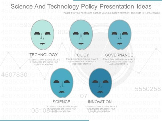 Science And Technology Policy Presentation Ideas