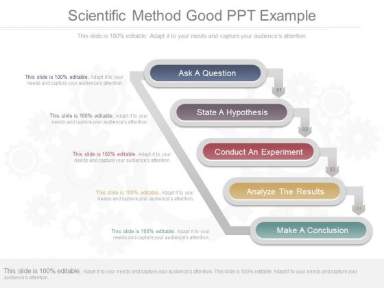 Scientific Method Good Ppt Example