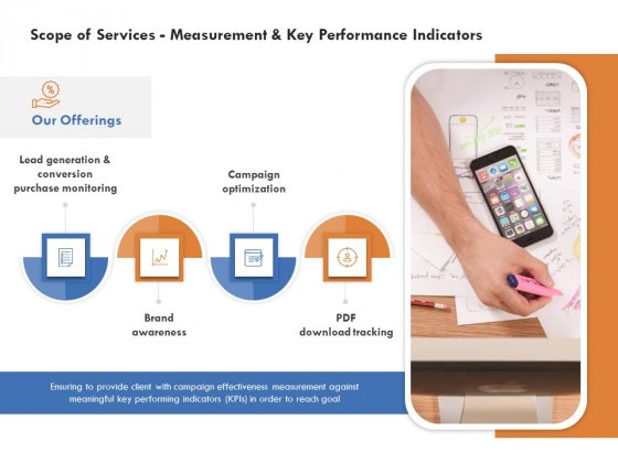 Scope Of Services Measurement And Key Performance Indicators Information PDF