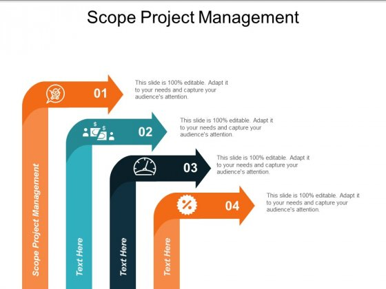 Scope Project Management Ppt Powerpoint Presentation Show Ideas Cpb