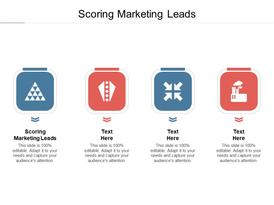 Scoring Marketing Leads Ppt PowerPoint Presentation File Infographics Cpb