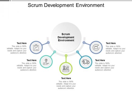 Scrum Development Environment Ppt PowerPoint Presentation Outline Layout Cpb