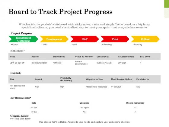 Scrum For Marketing Board To Track Project Progress Ppt PowerPoint Presentation Portfolio Layouts PDF