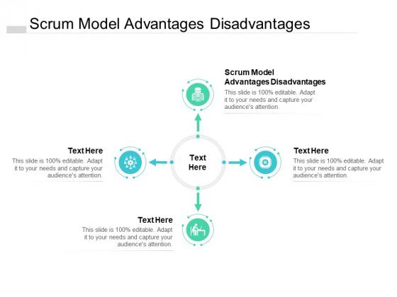 Scrum Model Advantages Disadvantages Ppt PowerPoint Presentation Professional Shapes Cpb