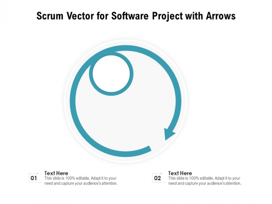 Scrum_Vector_For_Software_Project_With_Arrows_Ppt_PowerPoint_Presentation_Infographics_Example_Topics_PDF_Slide_1