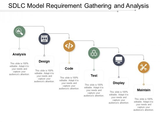 Sdlc Model Requirement Gathering And Analysis Ppt PowerPoint Presentation Model Guidelines