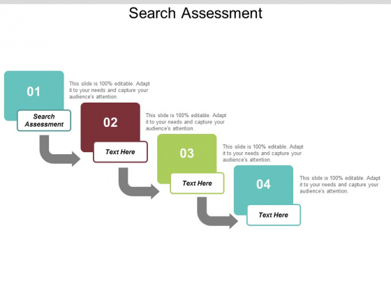 Search Assessment Ppt PowerPoint Presentation Model Example Topics Cpb