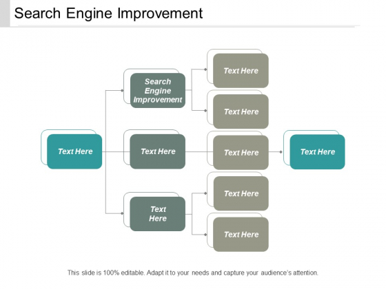 Search Engine Improvement Ppt PowerPoint Presentation Slides Shapes Cpb