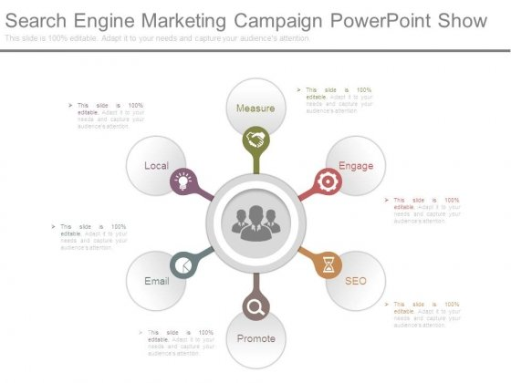 Search Engine Marketing Campaign Powerpoint Show