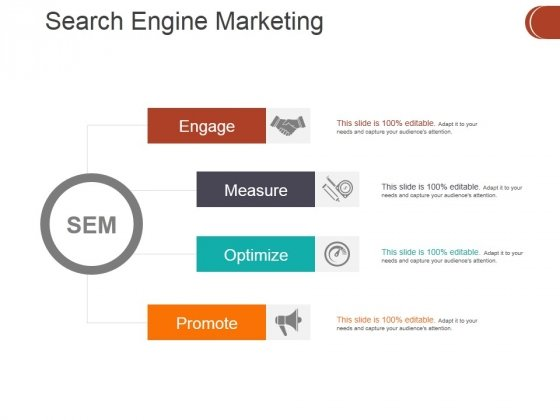 Search Engine Marketing Ppt PowerPoint Presentation Summary Guidelines
