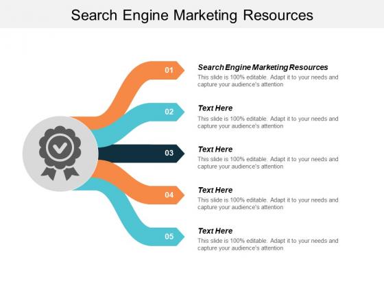 Search Engine Marketing Resources Ppt PowerPoint Presentation Portfolio Professional Cpb
