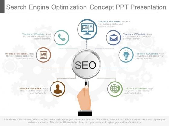 Search Engine Optimization Concept Ppt Presentation