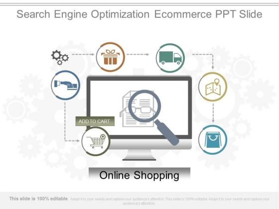 Search Engine Optimization Ecommerce Ppt Slide