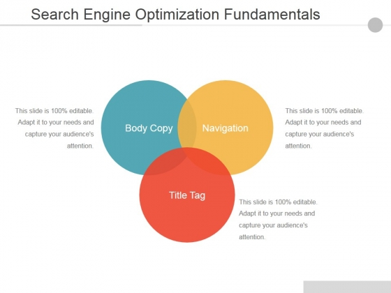 Search Engine Optimization Fundamentals Ppt PowerPoint Presentation File Graphics Design