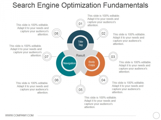 Search Engine Optimization Fundamentals Ppt PowerPoint Presentation Gallery Vector