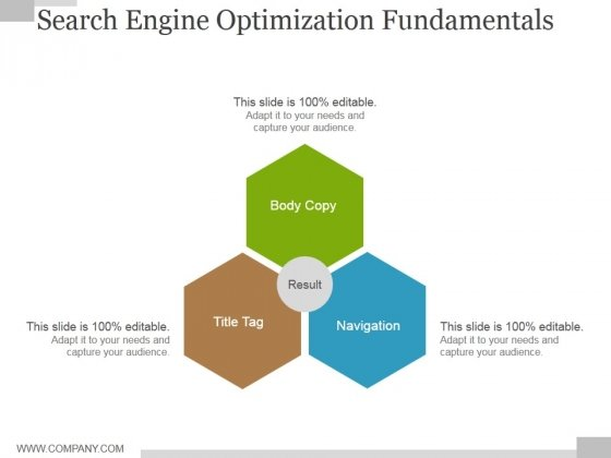 Search Engine Optimization Fundamentals Ppt PowerPoint Presentation Layouts Graphics Download