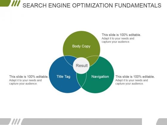Search Engine Optimization Fundamentals Ppt PowerPoint Presentation Layouts Slide Portrait