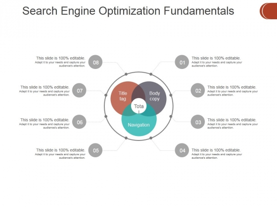 Search Engine Optimization Fundamentals Ppt PowerPoint Presentation Slides Infographic Template
