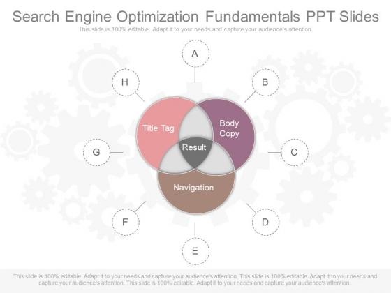Search Engine Optimization Fundamentals Ppt Slides