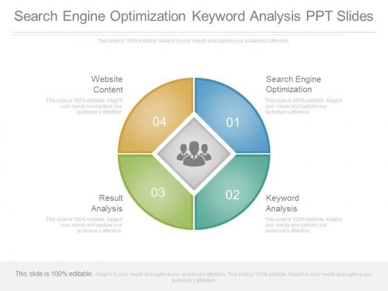 Search Engine Optimization Keyword Analysis Ppt Slides