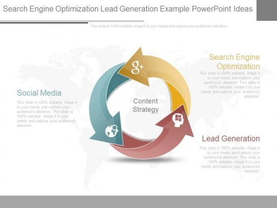 Search Engine Optimization Lead Generation Example Powerpoint Ideas