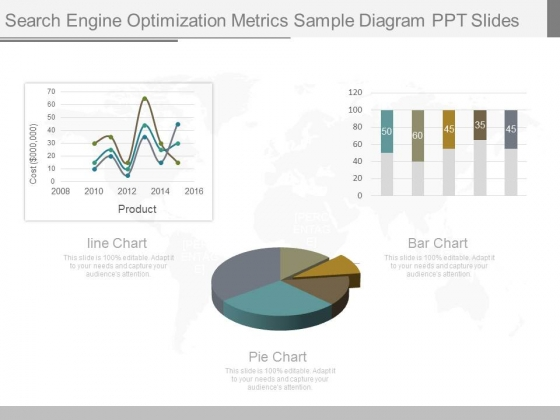 Search Engine Optimization Metrics Sample Diagram Ppt Slides