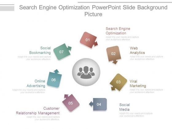 Search Engine Optimization Powerpoint Slide Background Picture