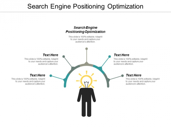Search Engine Positioning Optimization Ppt PowerPoint Presentation Infographic Template Show Cpb