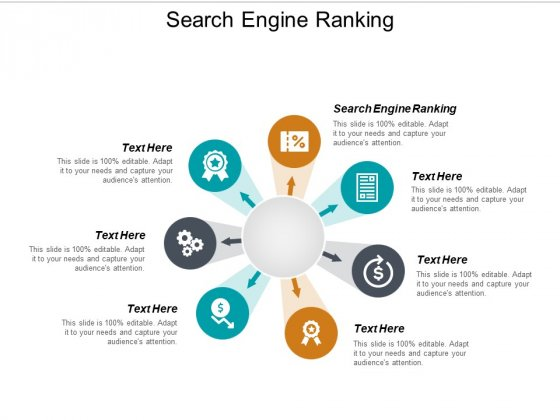 Search Engine Ranking Ppt PowerPoint Presentation Slides Cpb