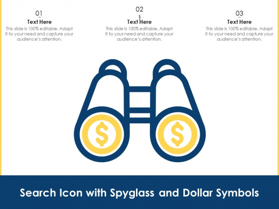 Search_Icon_With_Spyglass_And_Dollar_Symbols_Ppt_PowerPoint_Presentation_File_Show_PDF_Slide_1