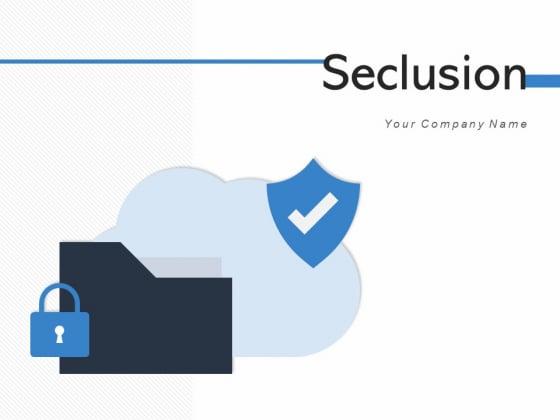 Seclusion Surveillance Icon Information Ppt PowerPoint Presentation Complete Deck