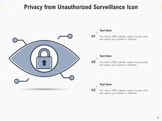 Seclusion_Surveillance_Icon_Information_Ppt_PowerPoint_Presentation_Complete_Deck_Slide_6