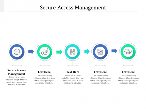 Secure Access Management Ppt PowerPoint Presentation Pictures Layout Cpb Pdf